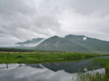 Vicino dal fiume di Kema Fotografie Stock