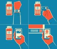 Vicino a tecnologia della comunicazione del campo Immagini Stock