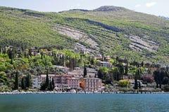 Vicino a Torbole, lago garda, Italia Immagini Stock