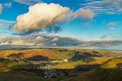 Vicino a Treorchy, Mid Glamorgan, Galles, Regno Unito fotografia stock