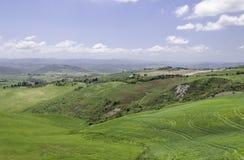Vicino a Volterra Fotografia Stock Libera da Diritti