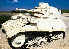 Vickers lekki zbiornik Mk VIB Latrun, Izrael Obraz Stock
