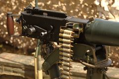 Vickers Machine Gun Stock Images