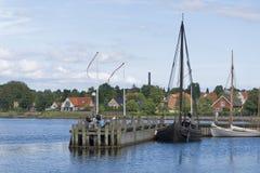 Vicking-Schiffs-Museum, Roskilde Lizenzfreie Stockbilder