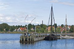 Vicking Ship Museum, Roskilde Royalty Free Stock Images
