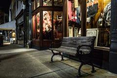 Vicksburg在晚上 库存照片