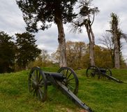 Vicksburg Canons Stock Images