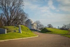 Vicksburg del monumento de guerra imágenes de archivo libres de regalías