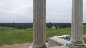Vicksburg national military park. Beautiful rolling hills of civil war battle ground Stock Image