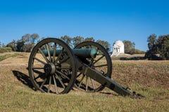 Vicksburg nationaler Militärpark Stockfotografie