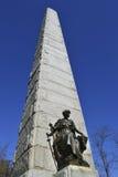 Vicksburg nationell slagfältMinnesota monument Arkivfoto
