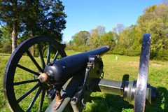 Vicksburg obywatela pole bitwy Zdjęcia Royalty Free