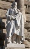 vico статуи rome философ Стоковая Фотография