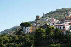 Vico church. The old church of vico equense in italy Stock Photography