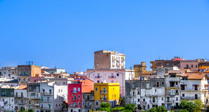 Vico del Gargano italian village in Apulia Stock Photography
