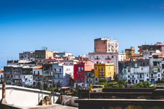 Vico del Gargano italian village in Apulia Stock Photo
