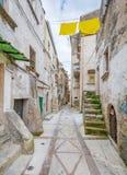 Vico del Gargano, province of Foggia, Puglia, southern Italy. Vico del Gargano is a village and comune in the province of Foggia in the Apulia region of Stock Photography