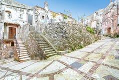 Vico del Gargano, province of Foggia, Puglia, southern Italy. Vico del Gargano is a village and comune in the province of Foggia in the Apulia region of Royalty Free Stock Images