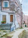 Vico del Gargano, province of Foggia, Puglia, southern Italy. Vico del Gargano is a village and comune in the province of Foggia in the Apulia region of Stock Image