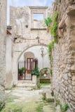 Vico del Gargano, province of Foggia, Puglia, southern Italy. Vico del Gargano is a village and comune in the province of Foggia in the Apulia region of Stock Images
