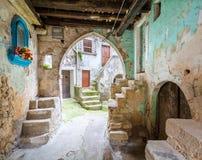 Vico del Gargano, province of Foggia, Puglia, southern Italy. Vico del Gargano is a village and comune in the province of Foggia in the Apulia region of Royalty Free Stock Photos