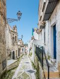 Vico del Gargano, province of Foggia, Puglia, southern Italy. Vico del Gargano is a village and comune in the province of Foggia in the Apulia region of Royalty Free Stock Photo