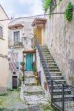 Vico del Gargano, province of Foggia, Puglia, southern Italy. Vico del Gargano is a village and comune in the province of Foggia in the Apulia region of Royalty Free Stock Image