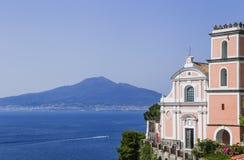 Vico Equense Italien La chiesa di Santissima Annunziata Lizenzfreie Stockfotos