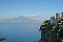 Vico equense. The landscape of vico equense in italy Royalty Free Stock Image