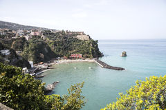 Vico Equense - Sorrento - Italy. Panoramic view of Sorrento Coast stock images