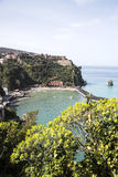 Vico Equense - Sorrento - Italy. Panoramic view of Sorrento Coast royalty free stock image