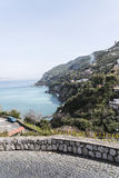 Vico Equense - Sorrento - Italy. Panoramic view of Sorrento Coast stock photos