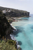 Vico Equense - Sorrento - Italy. Panoramic view of Sorrento Coast stock image