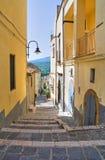 Vico Gradelle. Melfi. Basilicata. Italy. Royalty Free Stock Images