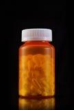 vicodin бутылки Стоковая Фотография RF