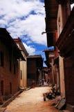 Vicoli tibetani fotografia stock