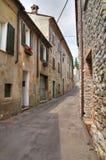 Vicolo. Bobbio. L'Emilia Romagna. L'Italia. Immagine Stock
