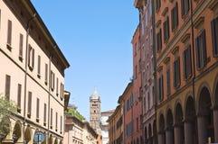 Vicolo. Bologna. L'Emilia Romagna. L'Italia. Fotografia Stock