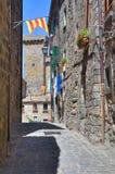 Vicolo. Bolsena. Il Lazio. L'Italia. Fotografia Stock
