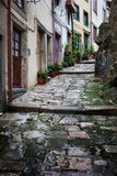 Vicolo in Città Vecchia di Oporto nel Portogallo Fotografia Stock Libera da Diritti