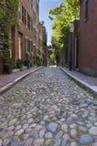 Vicolo Cobbled Boston Immagini Stock Libere da Diritti
