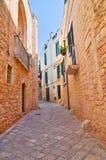 Vicolo. Conversano. La Puglia. L'Italia. Fotografie Stock