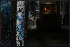Vicolo dei graffiti Immagini Stock Libere da Diritti