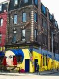 Vicolo dei graffiti di Toronto immagine stock libera da diritti