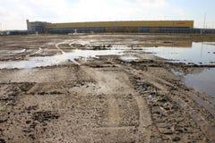 Vicolo del fango Immagini Stock