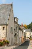 Vicolo del paese, Francia Immagine Stock