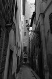 Vicolo del vicolo cieco a Firenze Fotografie Stock