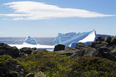 Vicolo dell'iceberg fotografia stock