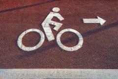 Vicolo della bici immagini stock libere da diritti