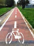 Vicolo della bici Fotografie Stock